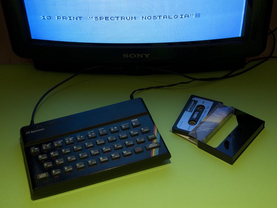 Ordenador ZX Spectrum